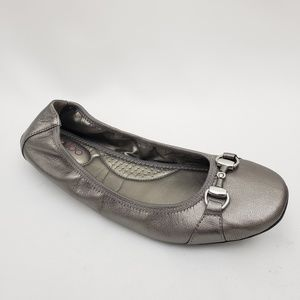 Me Too Women's Legend5 Ballet Flat Metallic 10 M
